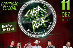Domingão Especial - Casa do Rock